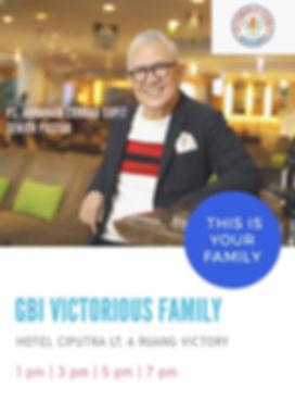 GBI Victorious Family Ciputra