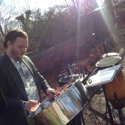 Wedding steel drum band