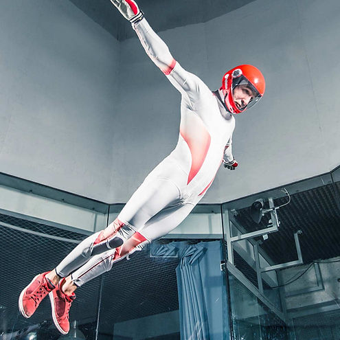 Marvel, Tunnel Suit, Skydiving Suit