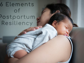 6 Elements for Postpartum Resiliency