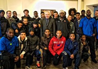Youth project tackling gang turf wars is hailed a success