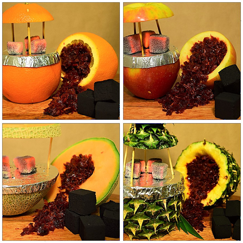 FRUIT BOWL HEADS WITH FLAVOR