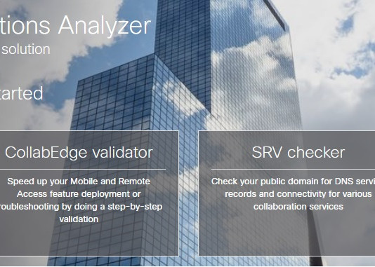 Collaboration Solutions Analyzer
