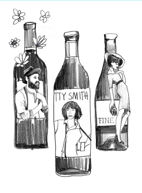 Illustrationen für Image Broschüre