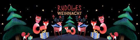 RUDOLFS WEIHNACHT BANNER