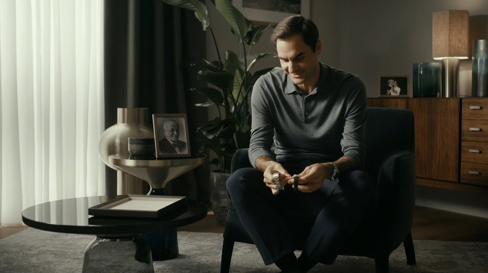 Art Director: Roger Federer - Perpetual Icon