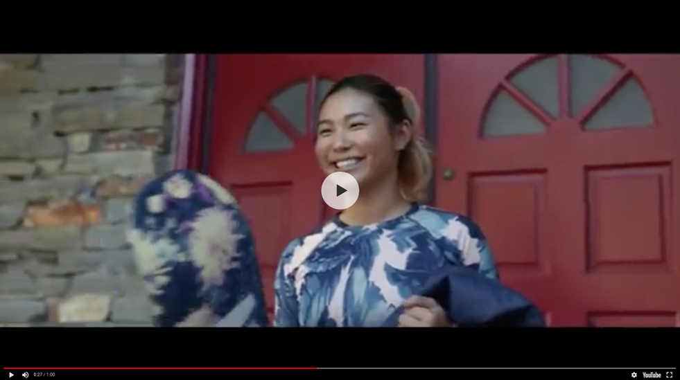 Styling: USA Olympic Commercial featuring Chloe Kim