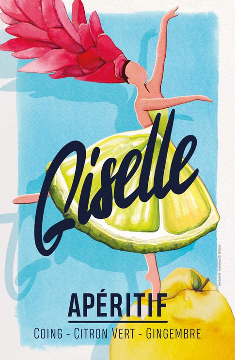 GISELLE Label Design