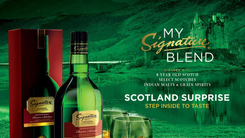 SIGNATURE SCOTLAND SURPRISE
