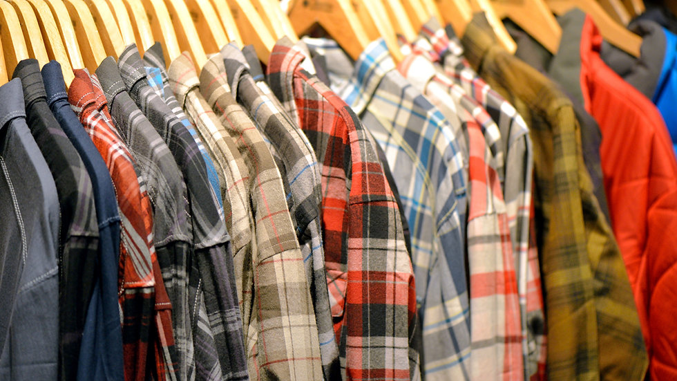 Camisas casuales masculinas