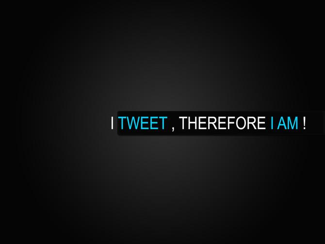 Je tweete donc je suis