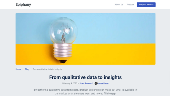 From qualitative data to insights