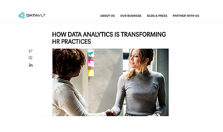How Data Analytics is Transforming HR Practices