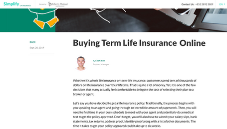 Buying Term Life Insurance Online