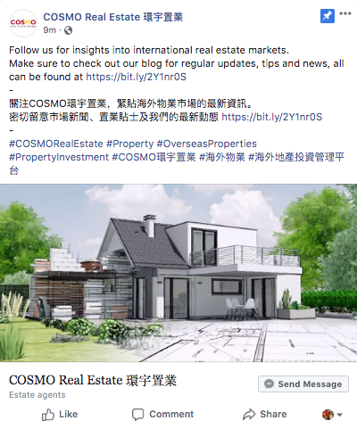 COSMO Real Estate 環宇置業