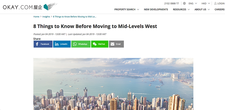 8 Things to Know Before Moving to Mid-Levels West