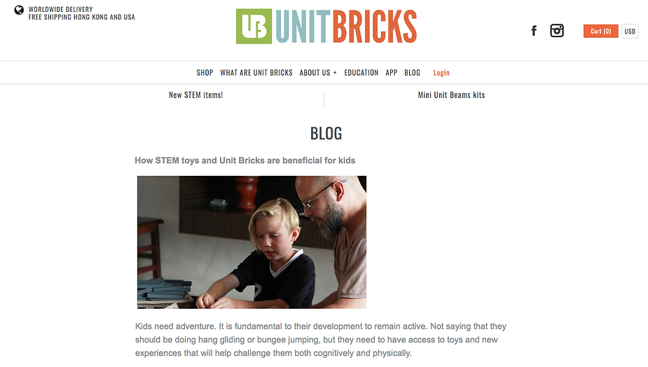 How STEM toys and Unit Bricks are beneficial for kids
