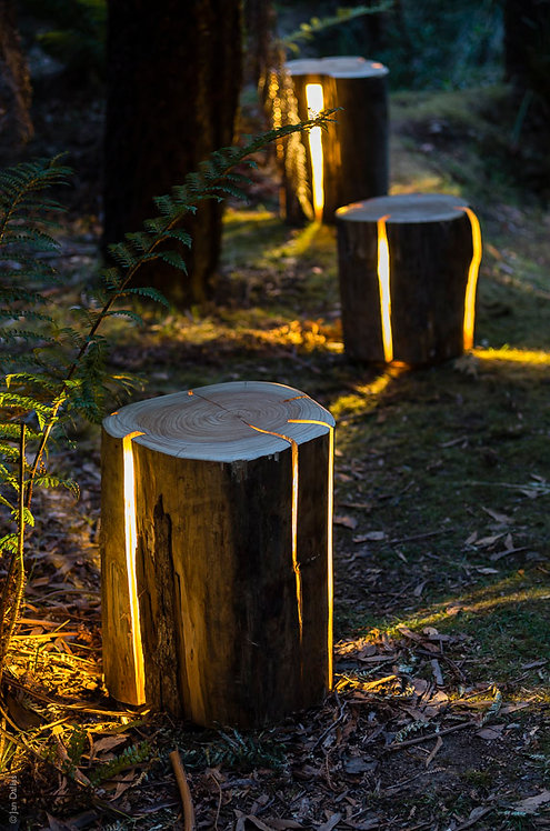 Battery Operated Stump Light