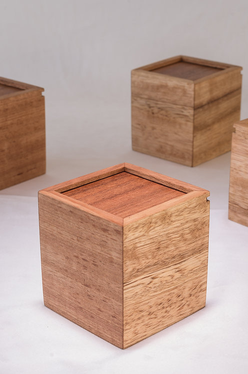 Sliding Lid Tea Box - Set of 3