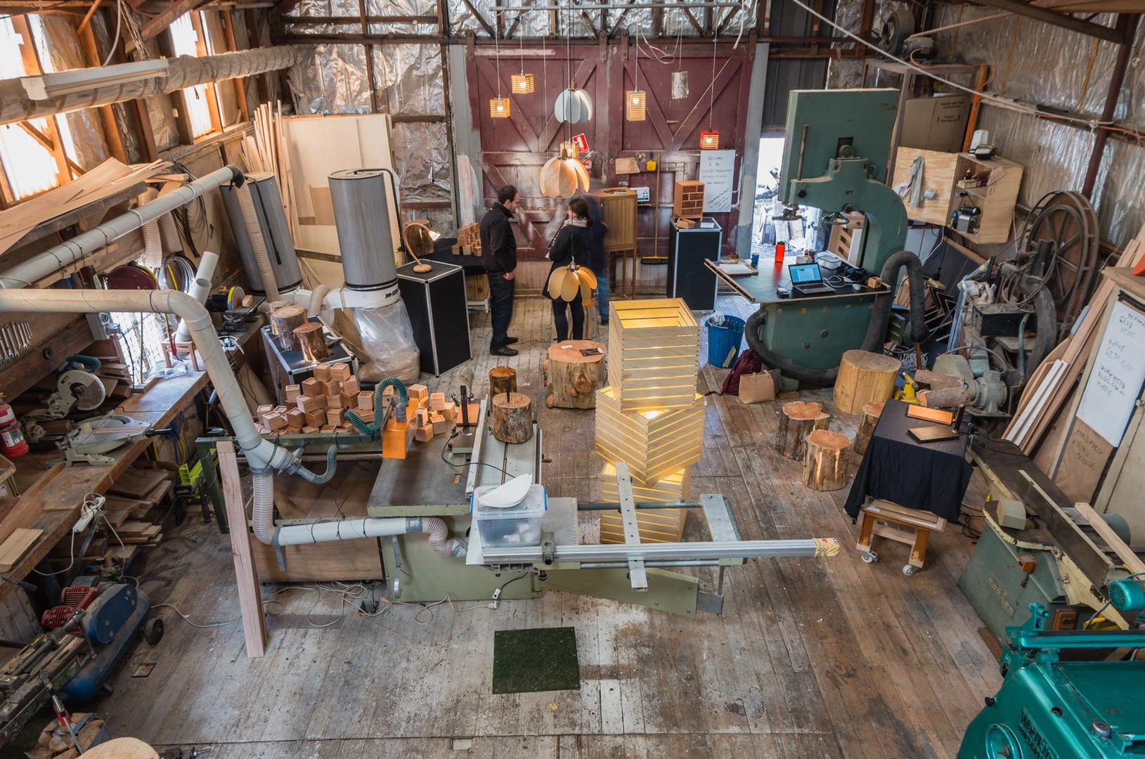 Duncan Meerding Studio/ Workshop