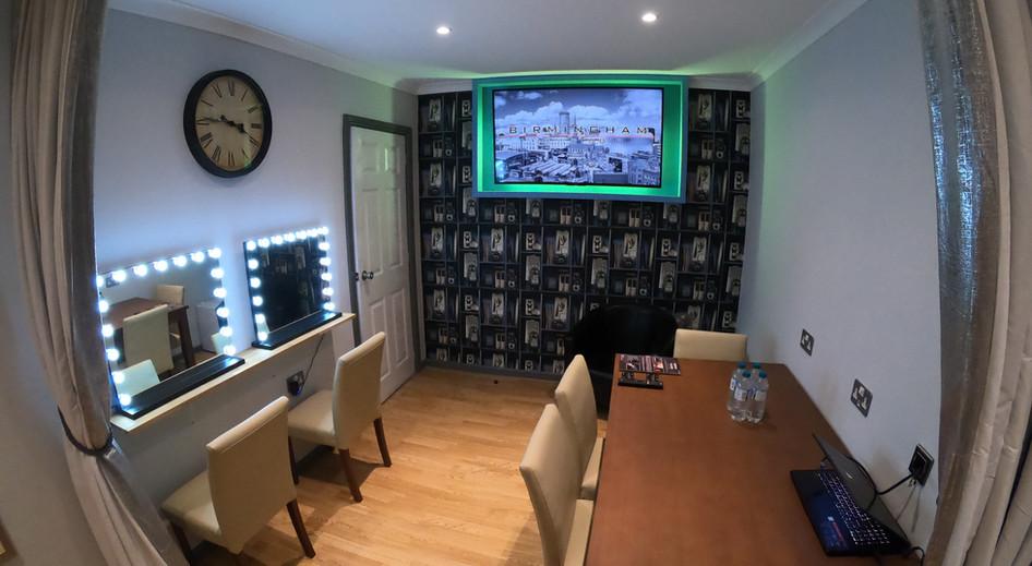 Green Room - Birmingham Film Studio