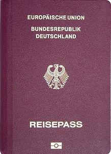 Перевод немецкого паспорта на русский