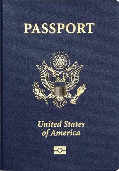Перевод америанского паспорта