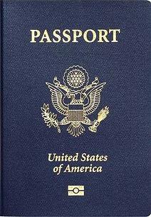 Перевод паспорта США