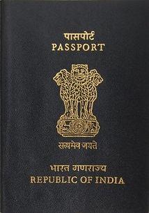 Перевод индийского паспорта