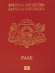 Перевод латвийского паспорта на русский