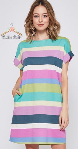 The McKinley Striped Dress