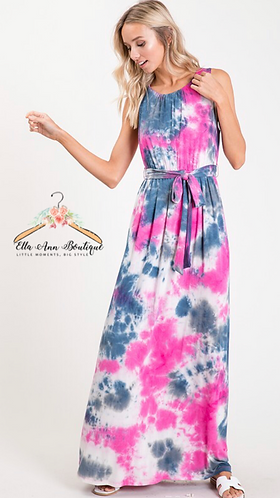 The Teagan Tie Dye Maxi
