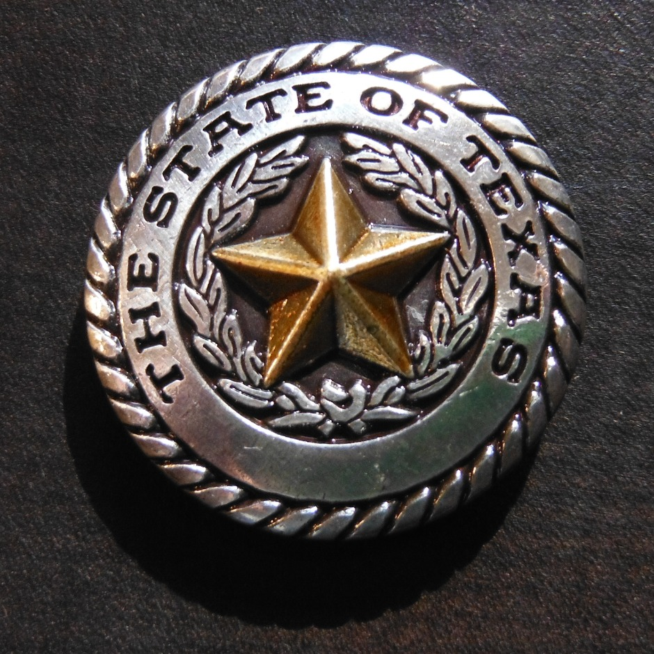 Two Tone Texas State Seal