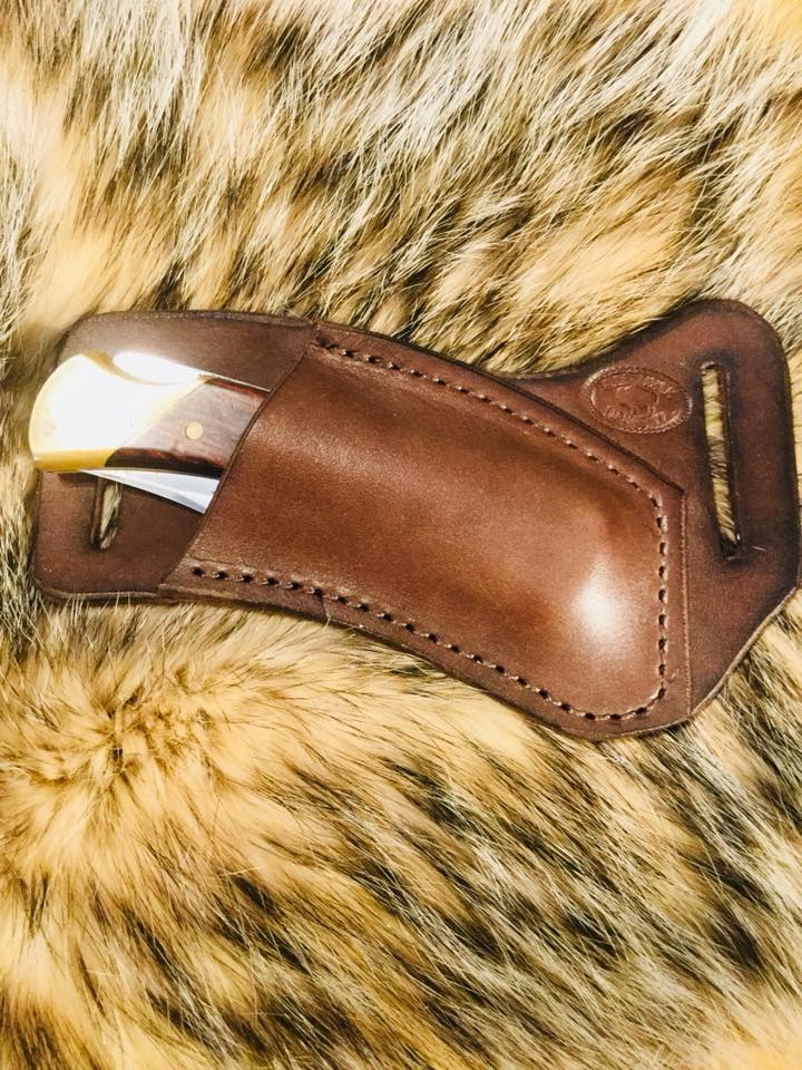 Leather Knife Pocket