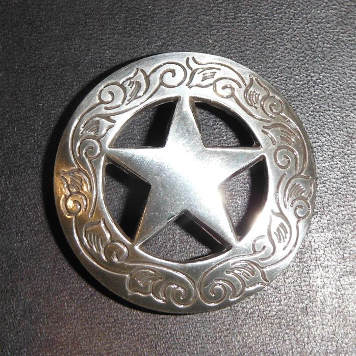Silver Scroll Star