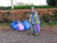 Village clean up day