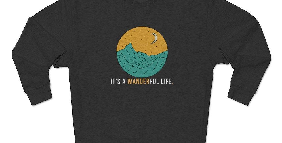 It's A Wanderful Life Crewneck Sweater
