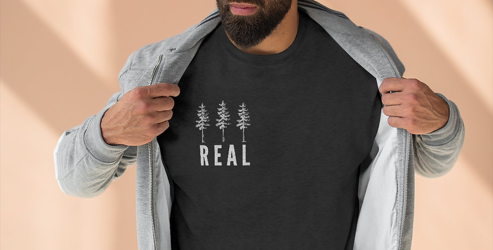 """Fir Real"" Unisex Crewneck"