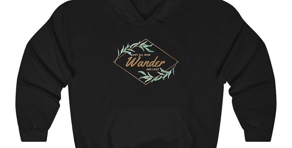 """Not All Who Wander"" Hoodie"