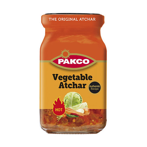 Pakco - HOT Vegetable Atchar 385g