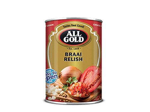 Braai Relish All Gold 410g