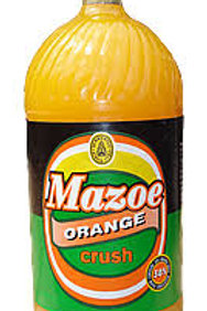 Mazoe Orange Crush Zimbabwe 2 Litre