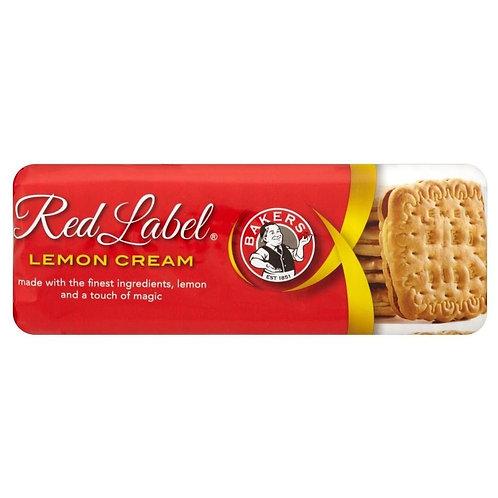 Bakers Red Label - Lemon Cream 200g