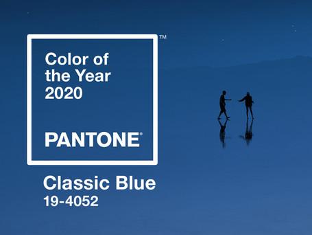 CLASSIC BLUE 19 - 4052