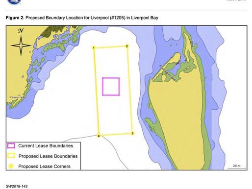 NAVIGATIONAL ACCESS - Coffin Island fish farm, Liverpool Bay