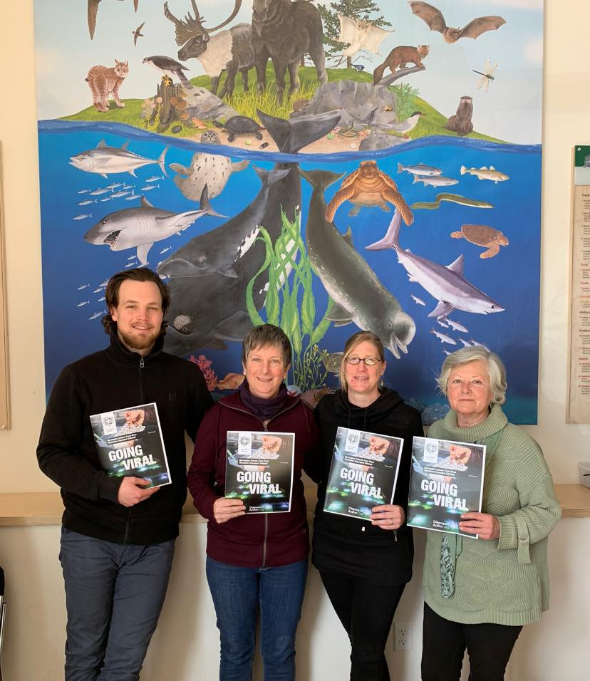Simon Burbridge (EAC), Bonnie Glambeck, Shannon Arnold (EAC), Karen Wristen