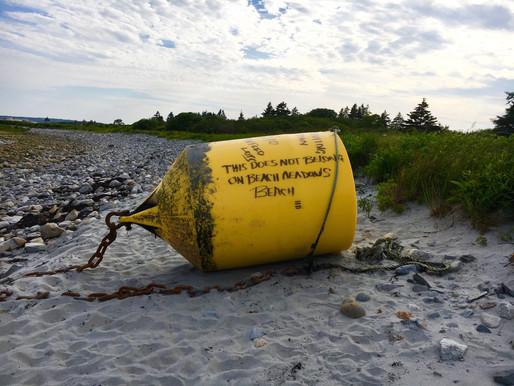 """THIS DOES NOT BELONG ON BEACH MEADOWS BEACH"""