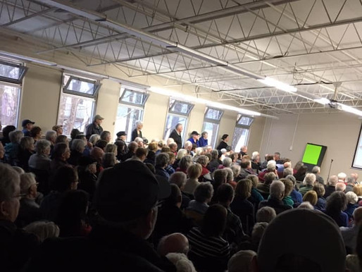 Toxic Water:  Mahone Bay community says 'Goodbye' Cermaq - we don't want fish farms in our Bays.