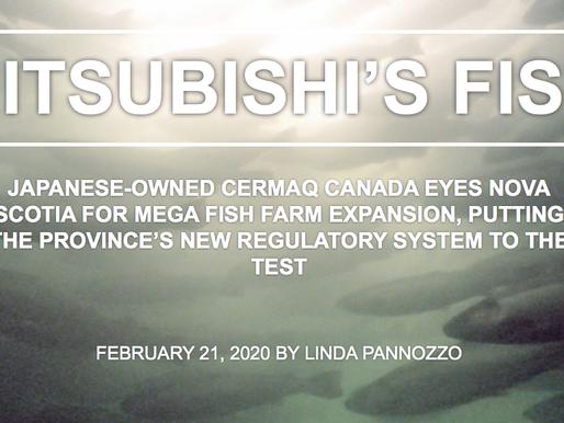 Mitsubishi's Fish - by Linda Pannozzo