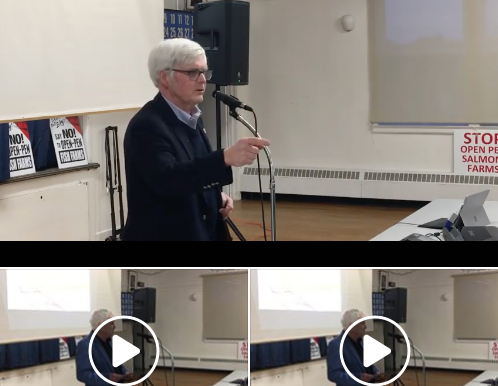 Video: Friends of Nature AGM in Chester, NS,  with Silver Donald Cameron and Kirk Havercroft
